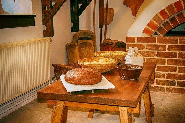 Brotbackstein aus natürlichem Schamott